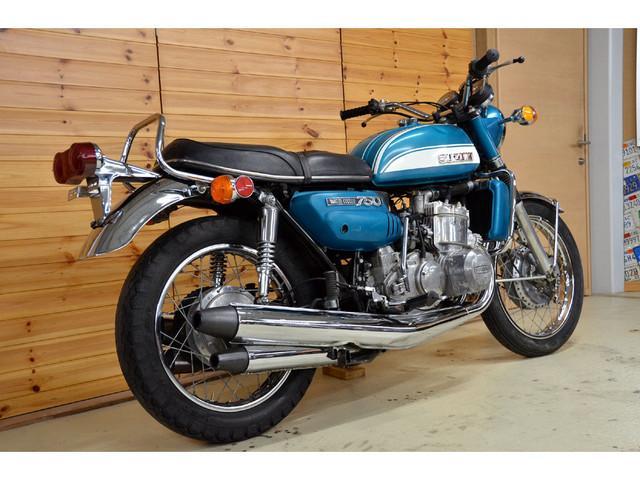 スズキ GT750 1972年 初期型 純正オリジナルペイントの画像(愛知県