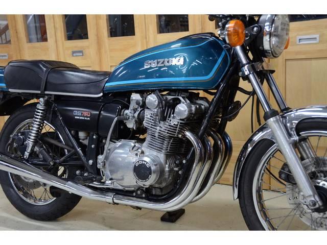 スズキ GS750 1977年式 純正オリジナルペイントの画像(愛知県