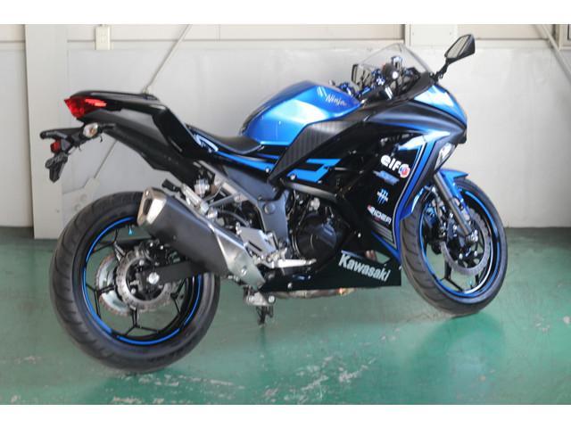 カワサキ Ninja 250 ブルーの画像(愛知県