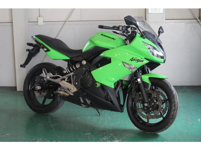カワサキ Ninja 400R ABS ライムグリーンの画像(愛知県
