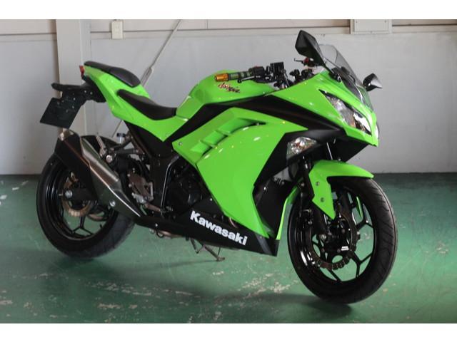 カワサキ Ninja 250 ライムグリーンの画像(愛知県