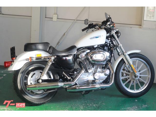 HARLEY-DAVIDSON XL883L ロー ホワイト サイドバッグ付きの画像(愛知県