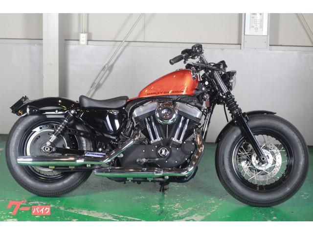 HARLEY-DAVIDSON XL1200X フォーティエイト オレンジ ボバーカスタムの画像(愛知県