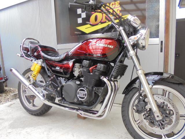 カワサキ ZEPHYR400 黒赤ラップZ2仕様の画像(愛知県