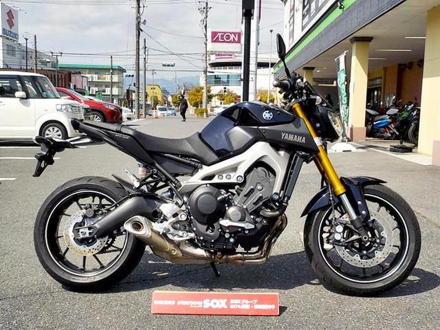 ヤマハ MT-09 ハンドル スライダーの画像(三重県