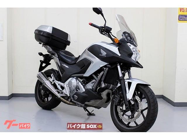 ホンダ NC700X DCT 2012年モデル スペックAマフラー リヤボックス付の画像(三重県