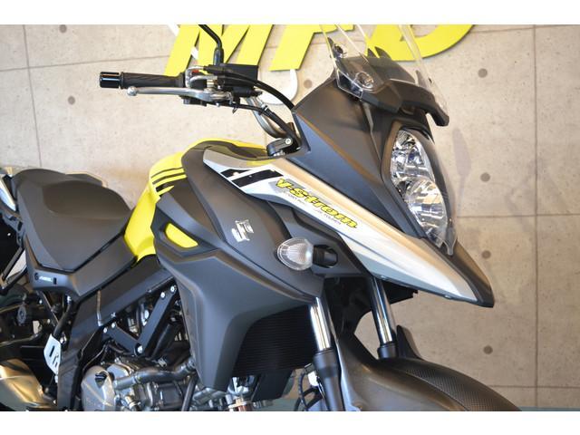 スズキ V-ストローム650 新車 トラコン・12ボルト電源装備の画像(静岡県