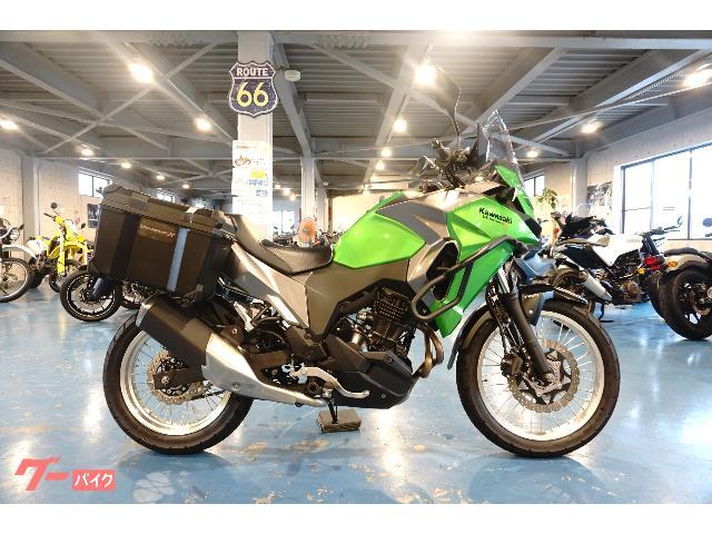 VERSYSーX 250 ツアラー  ABS 純正パニア/純正キャリア/純正エンジンガード