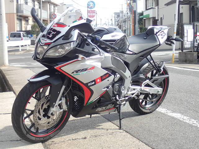 aprilia RS4 125 マフラー・フェンダーレスKITカスタムの画像(愛知県