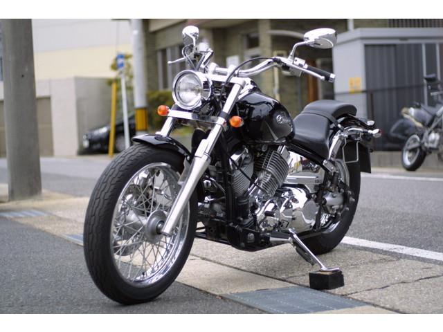 ヤマハ ドラッグスター400 サドルバッグサポート付きの画像(愛知県