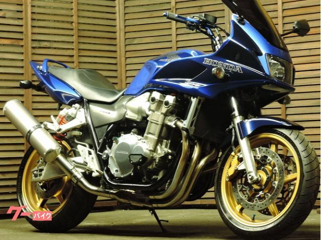 CB1300Super ボルドール モトバムコルサスリップオン ETC スクリーン