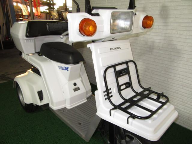 ホンダ ジャイロX 4stインジェクション ミニカー仕様 リアBOX付の画像(愛知県