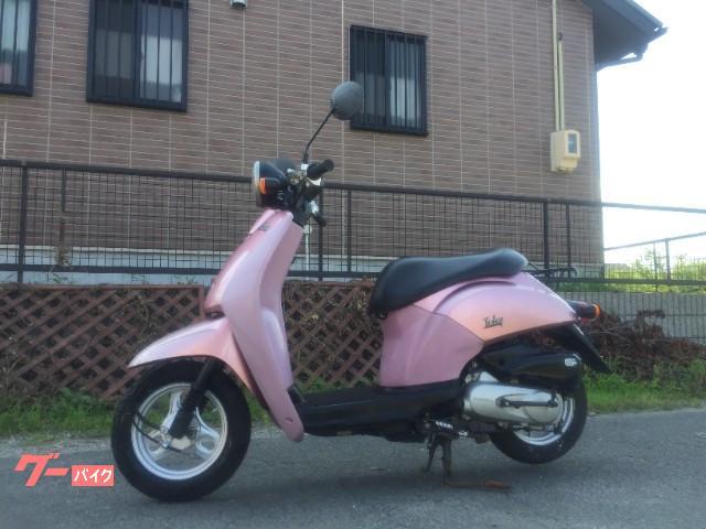 トゥデイ ピンク色 サイドスタンド付
