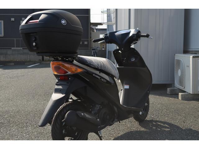 スズキ アドレスV50 18モデル BOX付き 新車の画像(静岡県