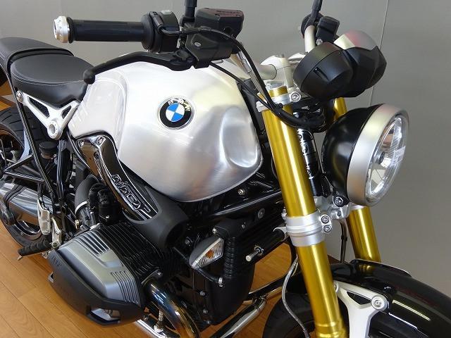 BMW R nineT アルミタンク装備の画像(長野県
