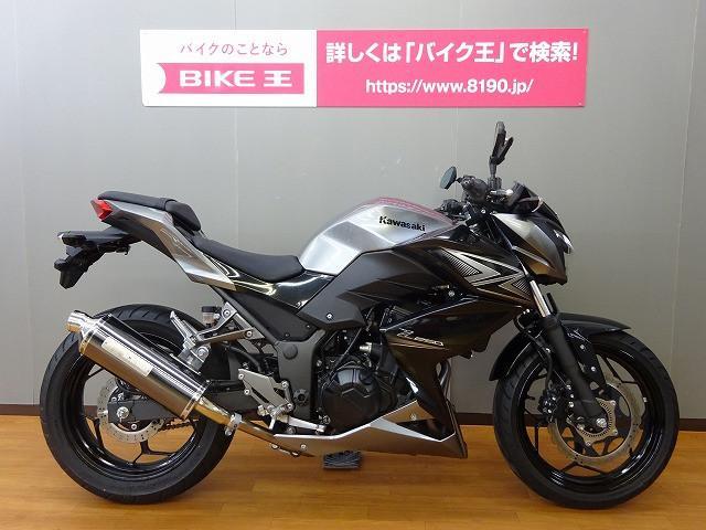 カワサキ Z250 モリワキマフラーカスタムの画像(長野県