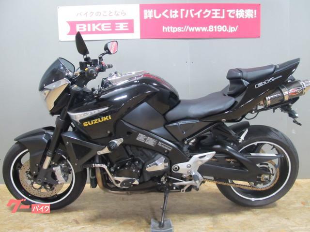 スズキ GSX1300BK B-KING Scorpionマフラー フェンダ-レス スライダー エンジンカバー カスタムの画像(石川県