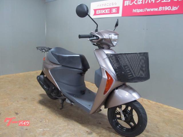 スズキ レッツ5G 2008年モデル 前カゴ装備 タイヤ新品の画像(石川県