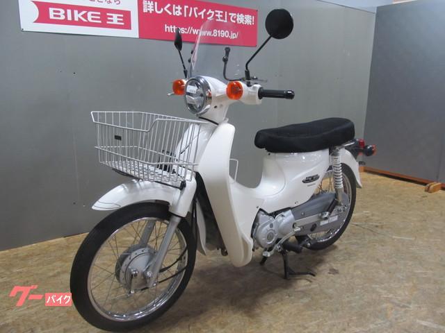 ホンダ スーパーカブ110 2009年モデル ロングシート 前カゴ付の画像(石川県