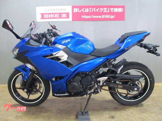 カワサキ Ninja 250 ABS EX250P 現行モデル 2018年モデル クランプバー スマホホルダー装備 ワンオーナーの画像(石川県