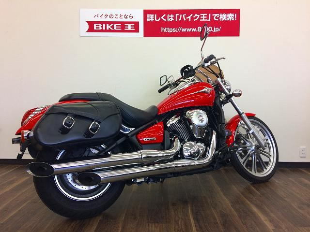 カワサキ バルカン900カスタム スクリーン・サドルバッグ装備 1オーナー車両の画像(静岡県