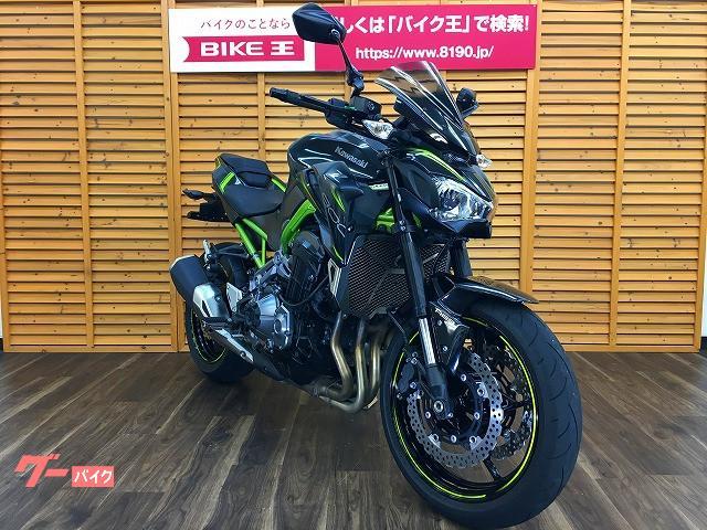 カワサキ Z900 スクリーン ミラー レバー ラジエターコアガードカスタムの画像(静岡県