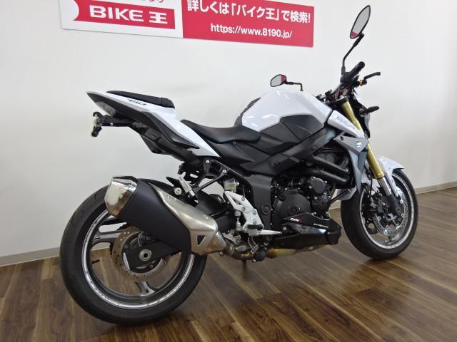 スズキ GSR750 ABS フェンダーレス U-KANAYA製レバーの画像(三重県