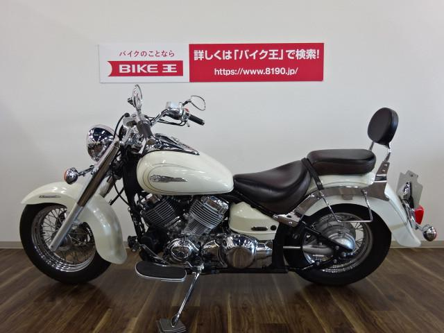 ヤマハ ドラッグスター400クラシック 防犯アラーム バックレスト装備 FIモデルの画像(三重県