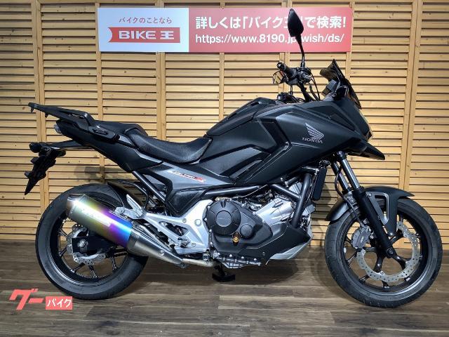 NC750X   モリワキスリップオン/Puigスクリーン
