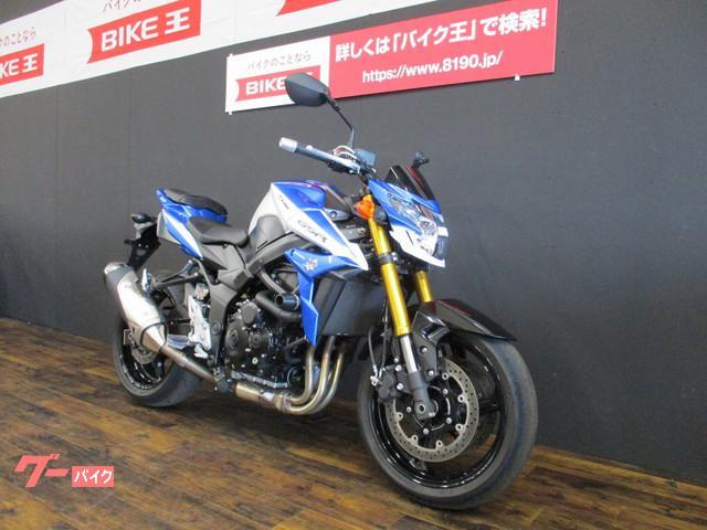 スズキ GSR750 ワンオーナー アクスルスライダー付きの画像(愛知県