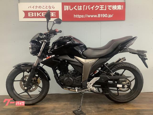 スズキ GIXXER 150 ビームスマフラーカスタム ヘッドライトカスタム グリップカスタム 2017年モデルの画像(愛知県