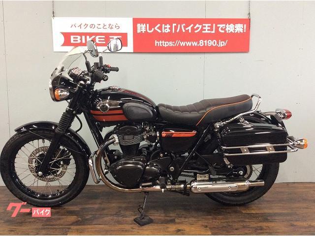 カワサキ W800 ワンオーナー スペシャルエディション BEETマフラーカスタムの画像(愛知県