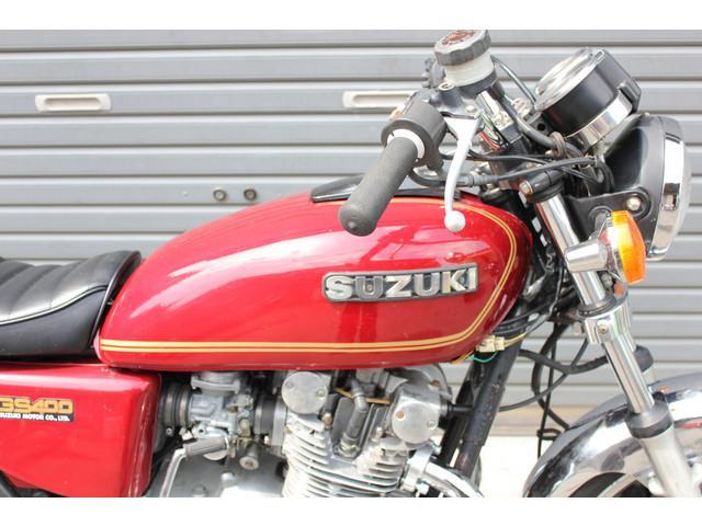 スズキ GS400 国内新規 純正塗装 エンジンオーバーホールの画像(静岡県