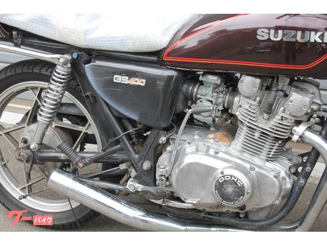 スズキ GS400 エンジンオーバーホールの画像(静岡県