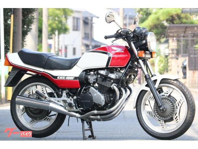 CBX400F 国内 1型 フルノーマル オリジナル 赤白