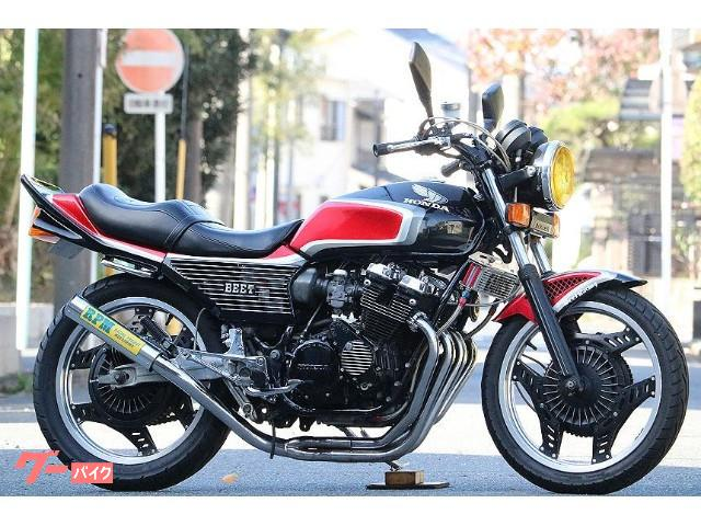 CBX400F 黒赤2型ルック フルBEET RPMマフラー カスタム多数