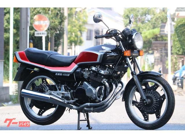 CBX400F CBX400F2 2型 黒赤 フルノーマル エンジン載せ替え無し