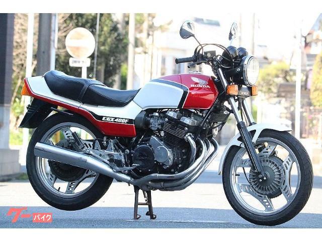 CBX400F 赤白 フルノーマル車 オリジナル 当時物 エンジンOH済 整備済
