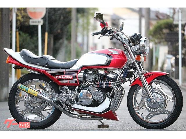 CBX400F フルレストア フレームフルメッキ エンジンフルOH済 ニューペイント フル国内物 赤白2型仕様 RPM BEET