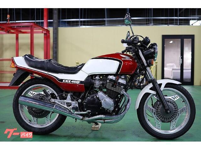 CBX400F 赤白フル1型 純正ノーマル 外装オリジナルペイント フレーム/エンジン塗り替え無し 当時物 ホイール製造年月日一致