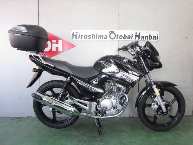 ヤマハ YBR125K カウル付 テールBOX付の画像(広島県