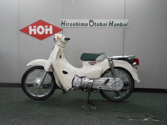 ホンダ スーパーカブ110 新型 LEDヘッドライトの画像(広島県