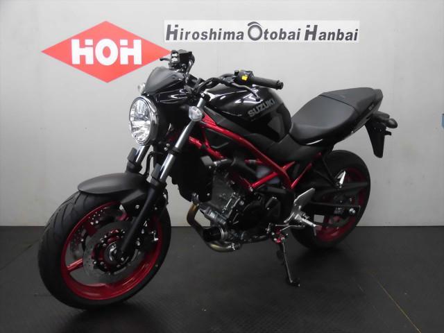 スズキ SV650 ABS2018年モデルの画像(広島県