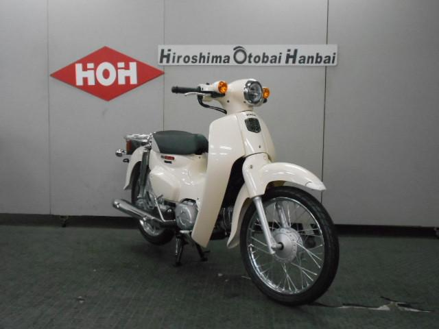ホンダ スーパーカブ110 2018年モデルの画像(広島県
