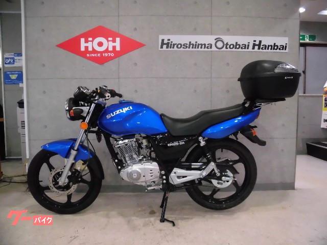 スズキ EN125-2A リアキャリア・BOX付の画像(広島県