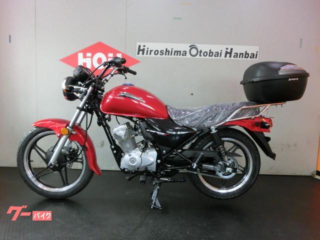 ホンダ CBF125T BOX付 EURO4対応FIモデルの画像(広島県