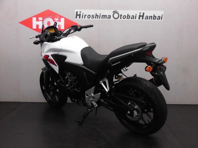ホンダ 400X ABS付の画像(広島県