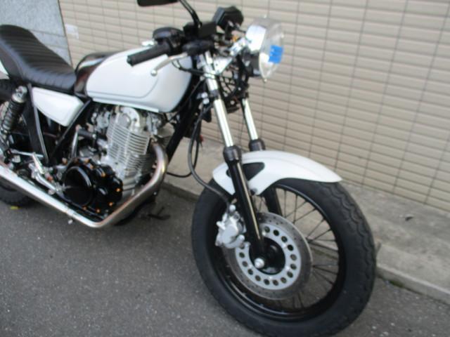 ヤマハ SR400カスタムの画像(広島県