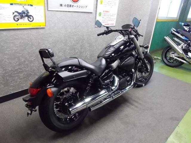ホンダ シャドウファントム750 スクリーン バックレスト付きの画像(広島県