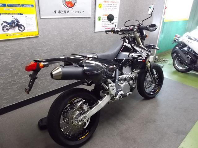 スズキ DR-Z400SM ハンドガード付きの画像(広島県